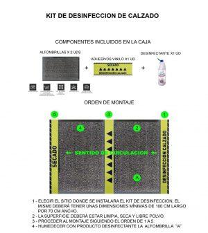 Kit de Desinfección de Calzado Profesionales